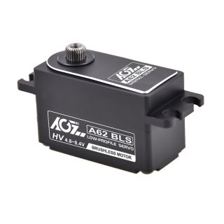 A62BLS Wide Voltage 25T High Speed Brushless Servo 10-14.5kg for RC boat