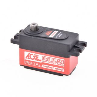 B45DLMZ High Quality 8-10kg Metal Gear Low Profile Offroad Car Servo- Cost Saving Type