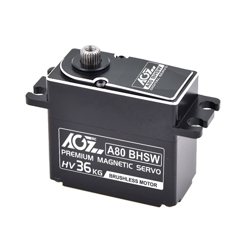 A80BHSW IP67 Waterproof 36KG High Speed High Torque Magnetic Encoder Servo