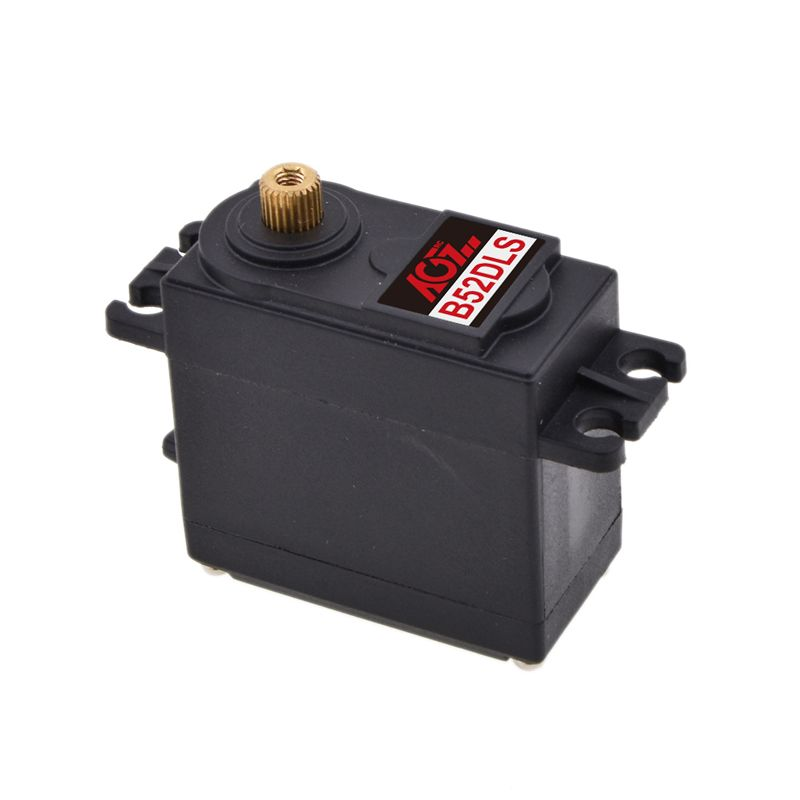 AGFrc B52DLS 6KG-7.5KG Metal Gear Digital STD Servo Motor for 550-700 Class Helicopter Tail