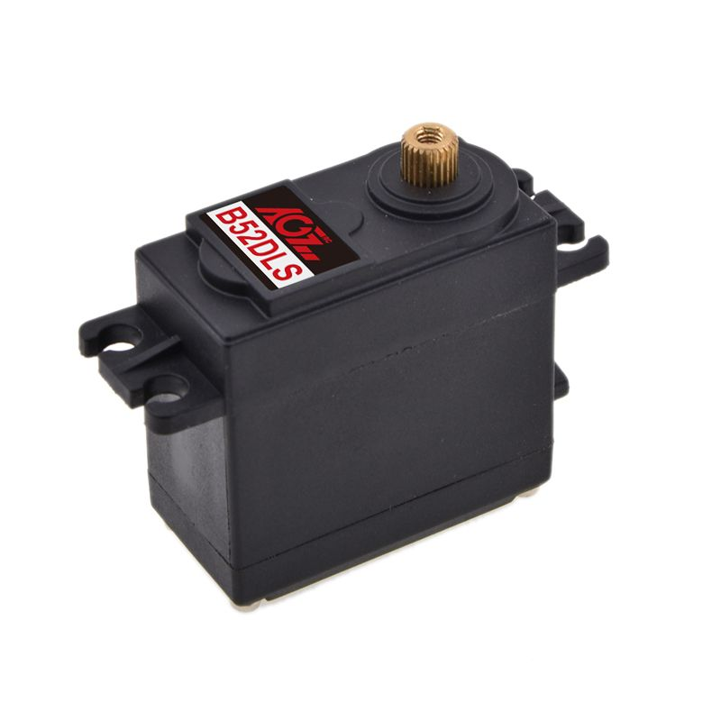 B52DLS AGF 6.5-7.5KG Metal Gear Digital standard servo motor for Helicopter tail