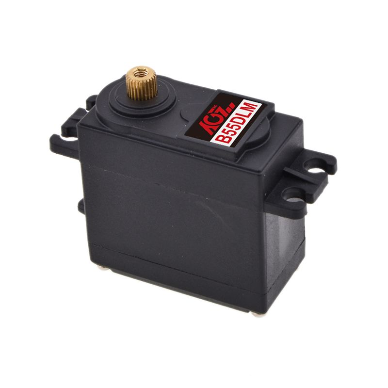 AGF B55DLMA 55g Digital High Torque Robot Servo Motor 180 Degree Metal Gear