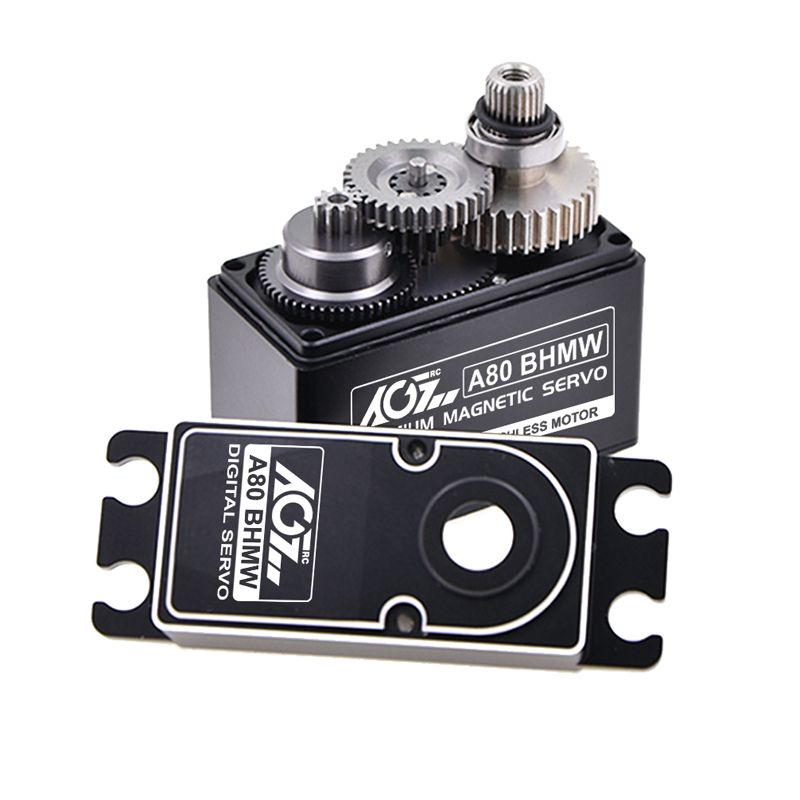 AGF A80BHMW Waterproof 40kg super torque digital brushless servo with magnetic sensor