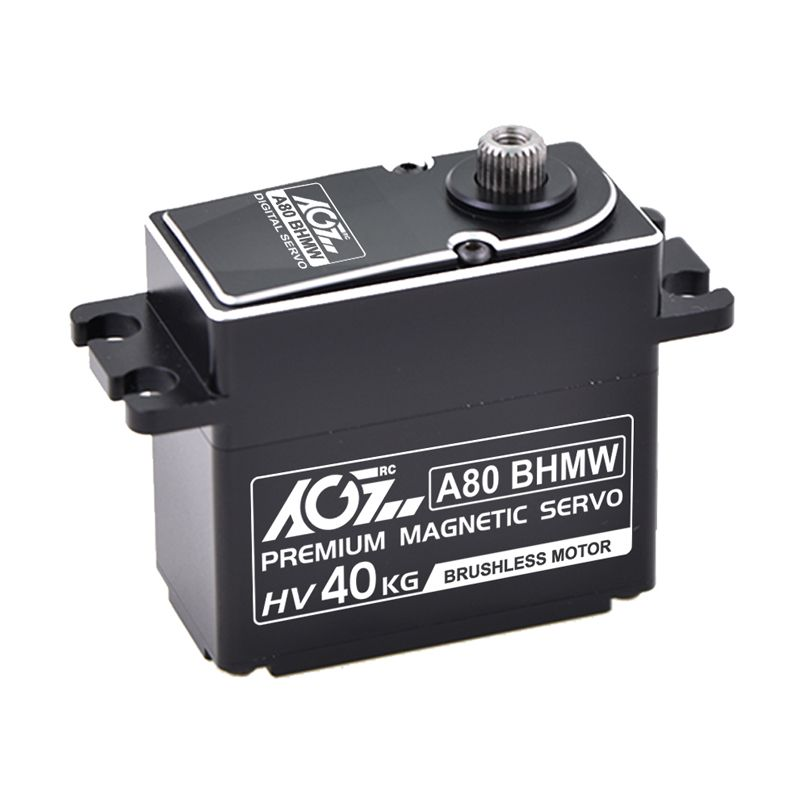 AGFrc A80BHMW High Torque 40KG Premium Waterproof Digital Servo With Magnetic Encoder