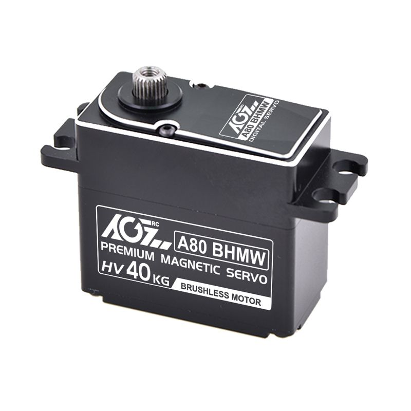 AGFRC A80BHMW 40kg hight torque waterproof digital brushless servo for underwater robot