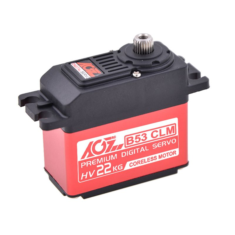 AGFRC B53CLM 22KG 0.14sec High torque Coreless Steel Gear Digital Servo for RC Models Robot Car