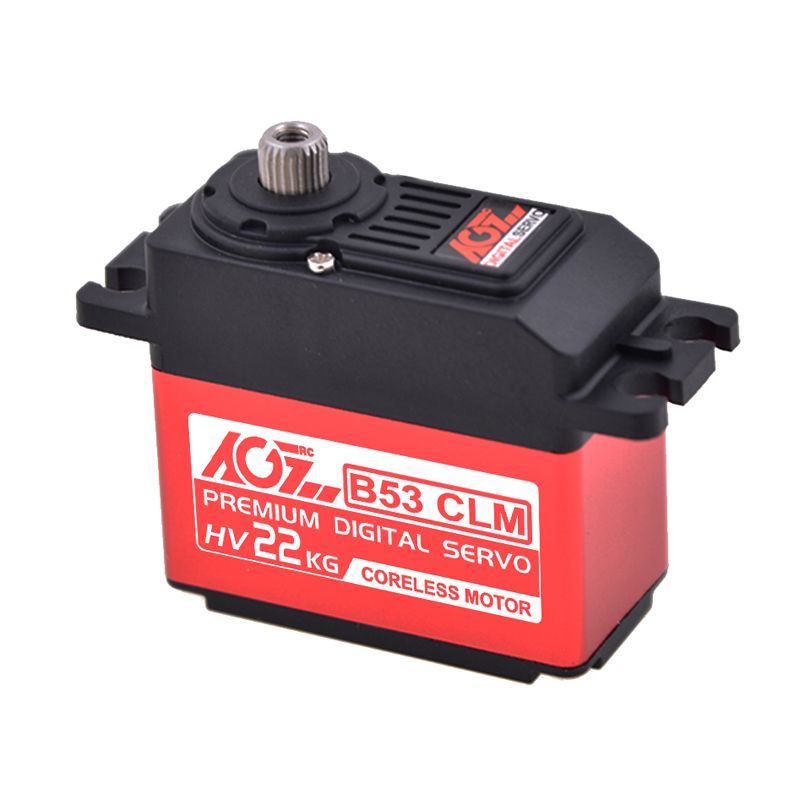 AGFRC B53CLM 25KG 0.12sec High torque Coreless Metal Gear Digital Standard Servo for UVA Aircraft