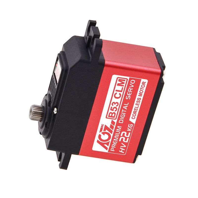 B53CLM Good Price Wide Voltage 25.5KG Super Torque Digital Coreless Servo for RC Aircraft Robot Car