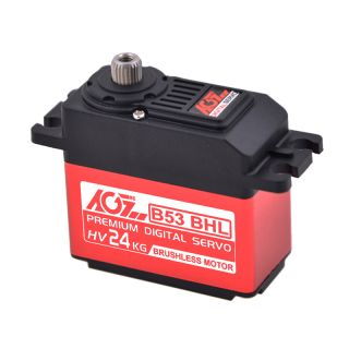 B53BHL HV Brushless 22kg High Torque Tough Gear Digital Winch Servo Motor