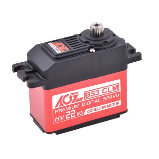 B53CLM 22KG 0.14sec High torque Coreless Steel Gear Digital Servo for RC Models Robot Car