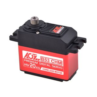 B53CHM 1/6 High Voltage High Speed 18KG Coreless Digital Steering Servo Motor