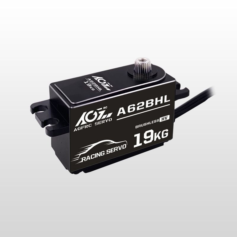 AGFrc A62BHL Extra Torque HV Brushless Progammable Digital Low Profile Steering Servo for RC Drift