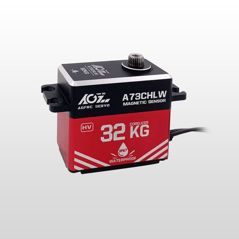 AGF A73CHLW 73g Light Weight 32KG High Torque Waterproof Digital Servo