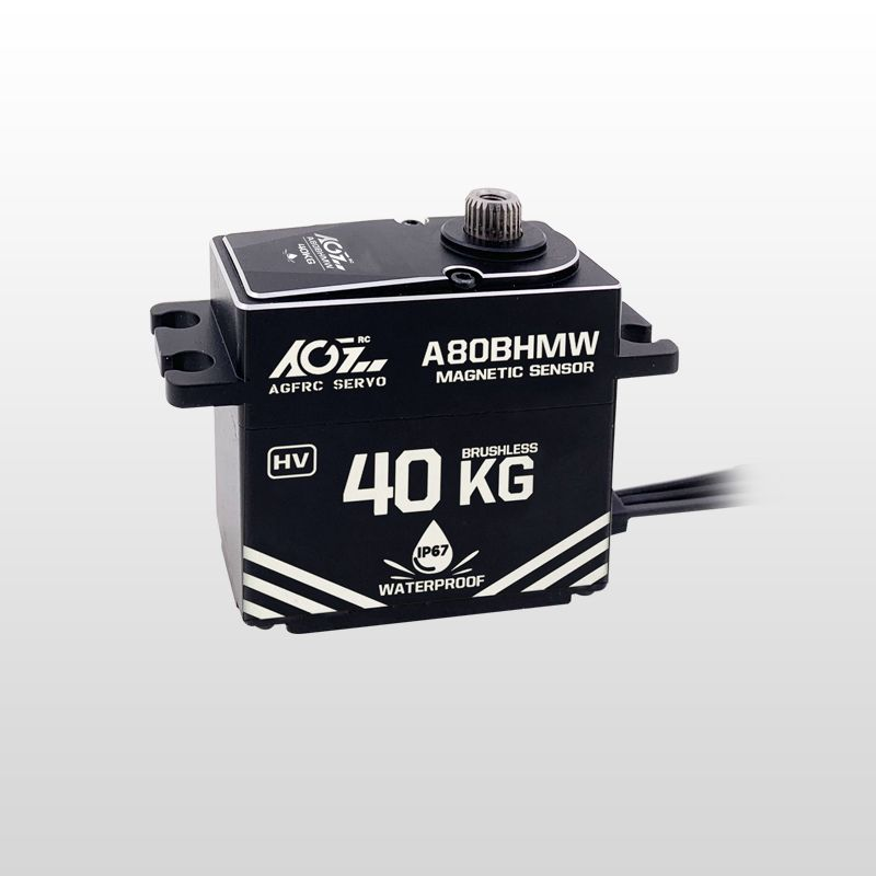 A80BHMW High Torque 40KG Premium Waterproof Digital Servo With Magnetic Sensor for rc car