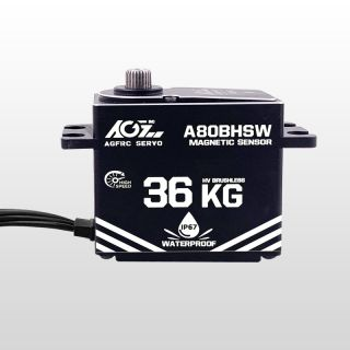 A80BHMW High Torque 40KG Premium Waterproof Digital Servo With Magnetic Sensor for Robot