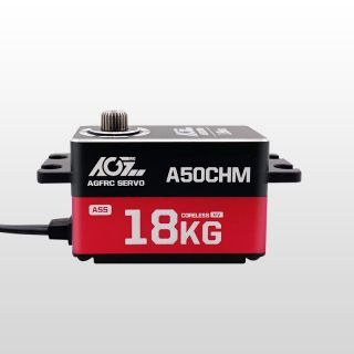 AGF A50CHM HV Aluminum Case 16KG High Torque Low Profile Coreless Servo for 1/10 Crawler