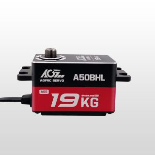 AGF A50BHL 19KG Ultra Torque Super Speed Programmable Low Profile Brushless Servo For RC Drifting