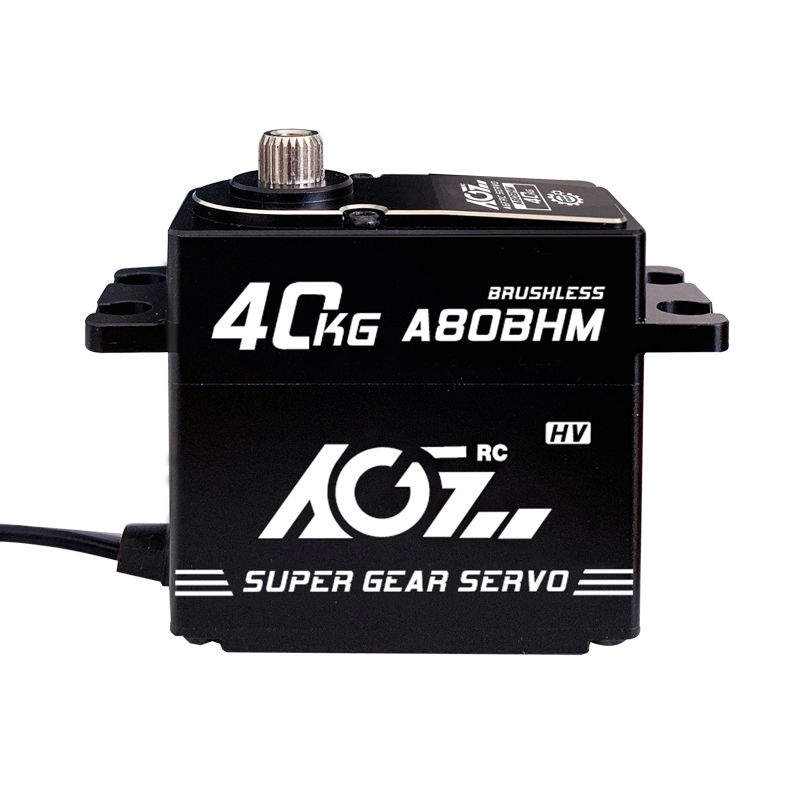 AGFrc A80BHM 40KG Ultra High Torque Brushless Digital Wide Voltage Standard Servo Motor