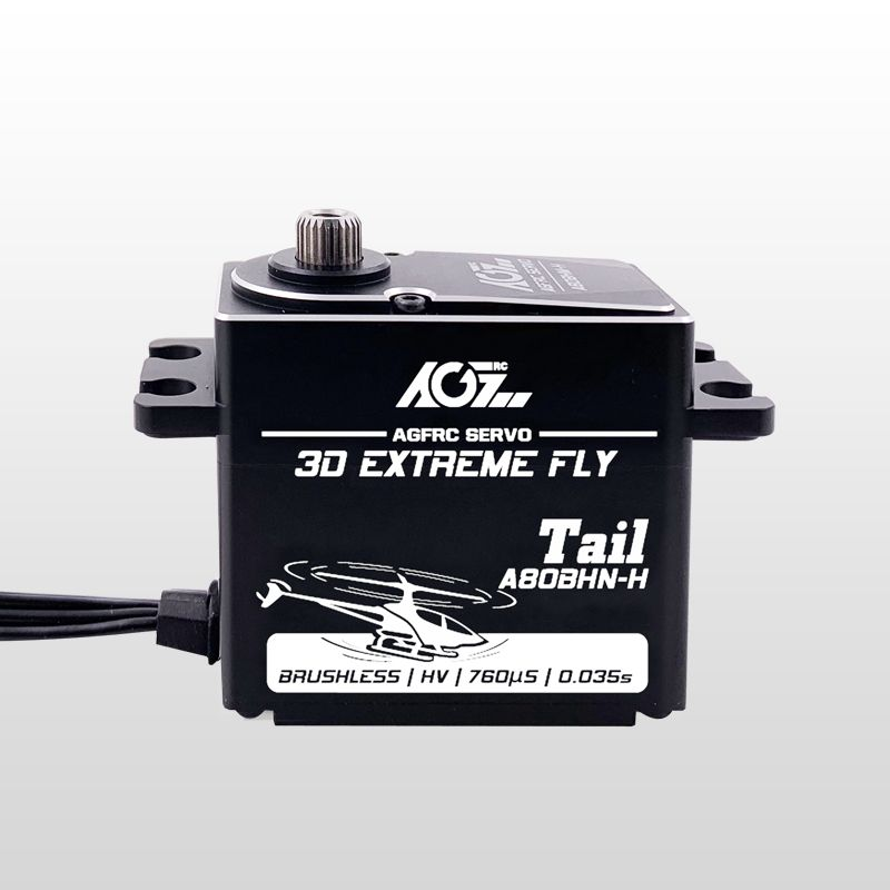 AGFrc A80BHN-H 0.035s Super Speed HV 1520uS Brushless Digital Helicopter Tail Servo