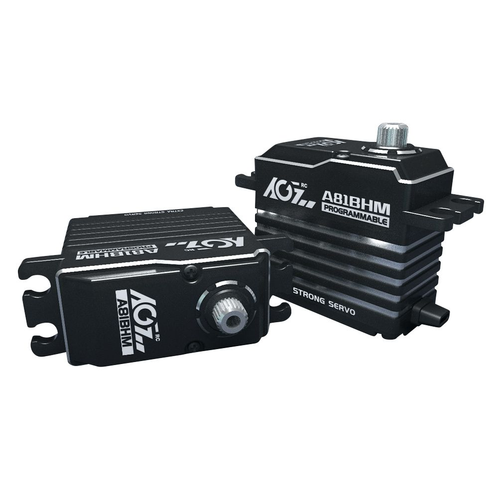 A81BHMAGF A81BHM Strengthen Patent Steel Gear 45KG HV Extra Strong Brushless Programmable Servo