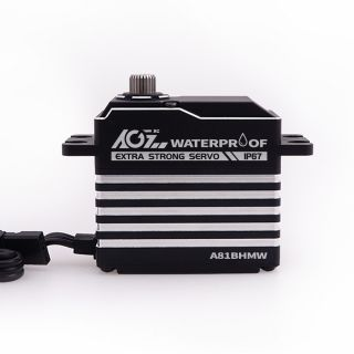 A81BHMW 45KG Monster Torque 0.085s High Speed Magnetic Waterproof Digital Brushless Servo