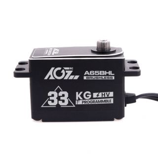 A65BHL 30KG 0.08S High Speed Heighten Low Profile Metal Case Programmable Brushless Digital Servo
