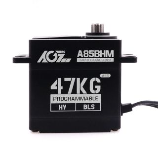 AGFrc A85BHM Patent Gear 47KG High Power High Speed HV Programmable Brushless Servo Motor