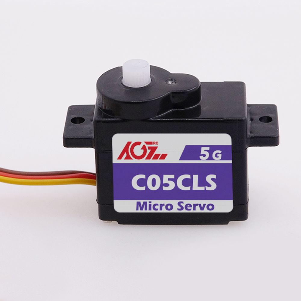 AGFRC C05CLS 1KG.CM Torque 0.075S High Speed Micro 120 Degree Digital Coreless 5g Nano Servo For RC Helicopter RC Plane