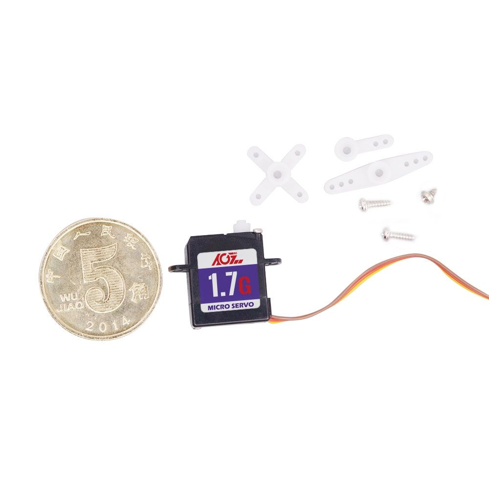 C017CLS 1.7g Low Voltage Sub-Micro Digital Servo for indoor and small park flyers