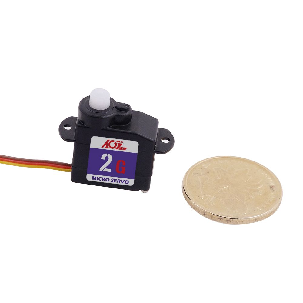 C02CLS 4.2V Low Voltage Sub-Micro Digital Servo 0.11kg / 0.06sec