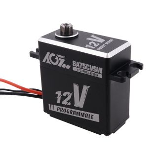 SA75CVSW 180 Degree 45KG High Speed High Torque Metal Gear Programmable Coreless Heightened Standard Digital Servo
