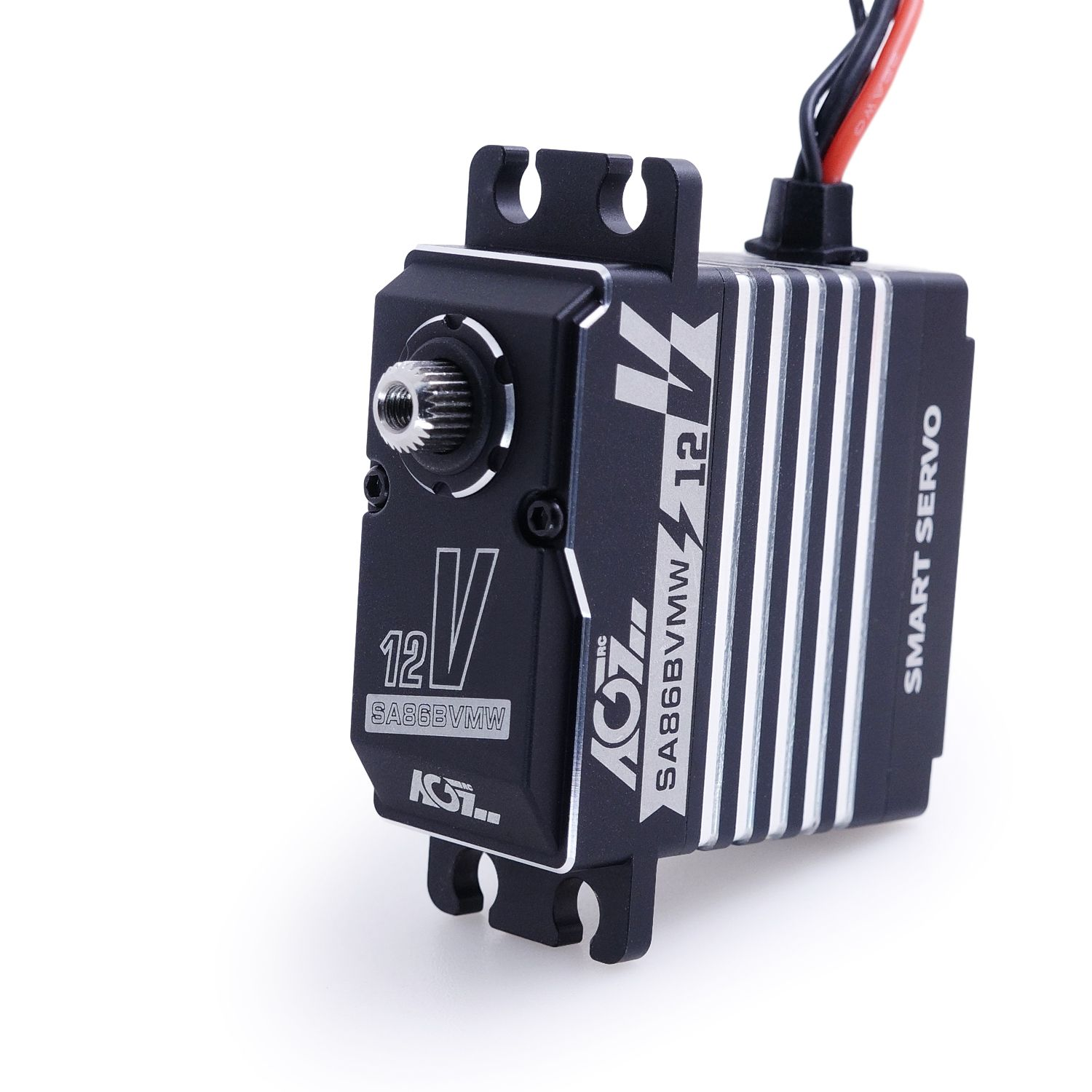 AGFrc SA86BVMW 60KG Super Torque Aluminum Case 12V Smart Servo With Winch Function