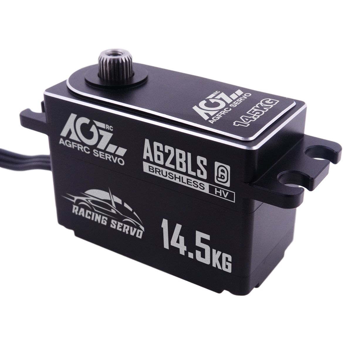 A62BLS Wide Voltage 25T High Speed Brushless Servo 10-14.5kg For RC Drifting Car