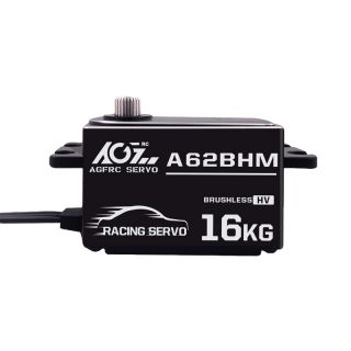 AGFrc A62BHM High Durable Steel Gear 16KG Super Power Low Profile Brushless RC Servo