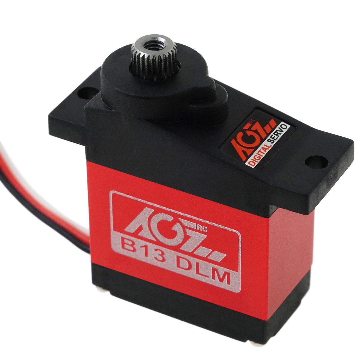 AGFRC B13DLM 3.8KG High Torque 9g Aluminum Case Metal Gear Digital Micro Servo