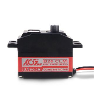 B26CLM 26g High Torque HV 10.5KG 0.08Sec Fast Speed Titanium Gear Digital Mini RC Car Servo