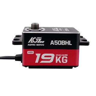 A50BHL 19KG Ultra Torque Super Speed Programmable Low Profile Brushless Servo For RC Drifting
