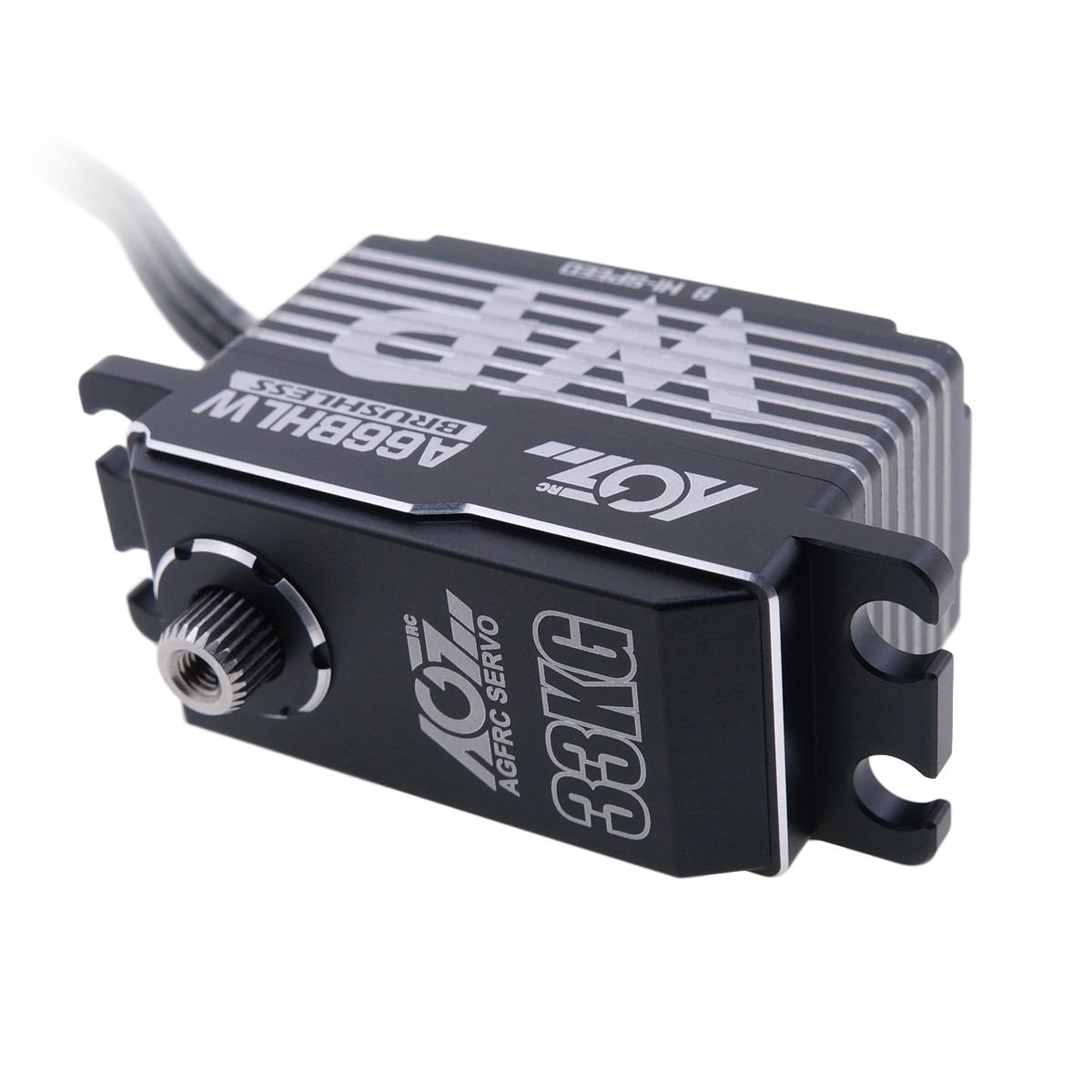 AGF RC A66BHLW Upgrade Gear 33KG 0.068Sec Super Spec Magnetic Waterproof Low Profile Brushless Digital Servo for ET410.2 1/10th Scale 4WD Baby Truggy