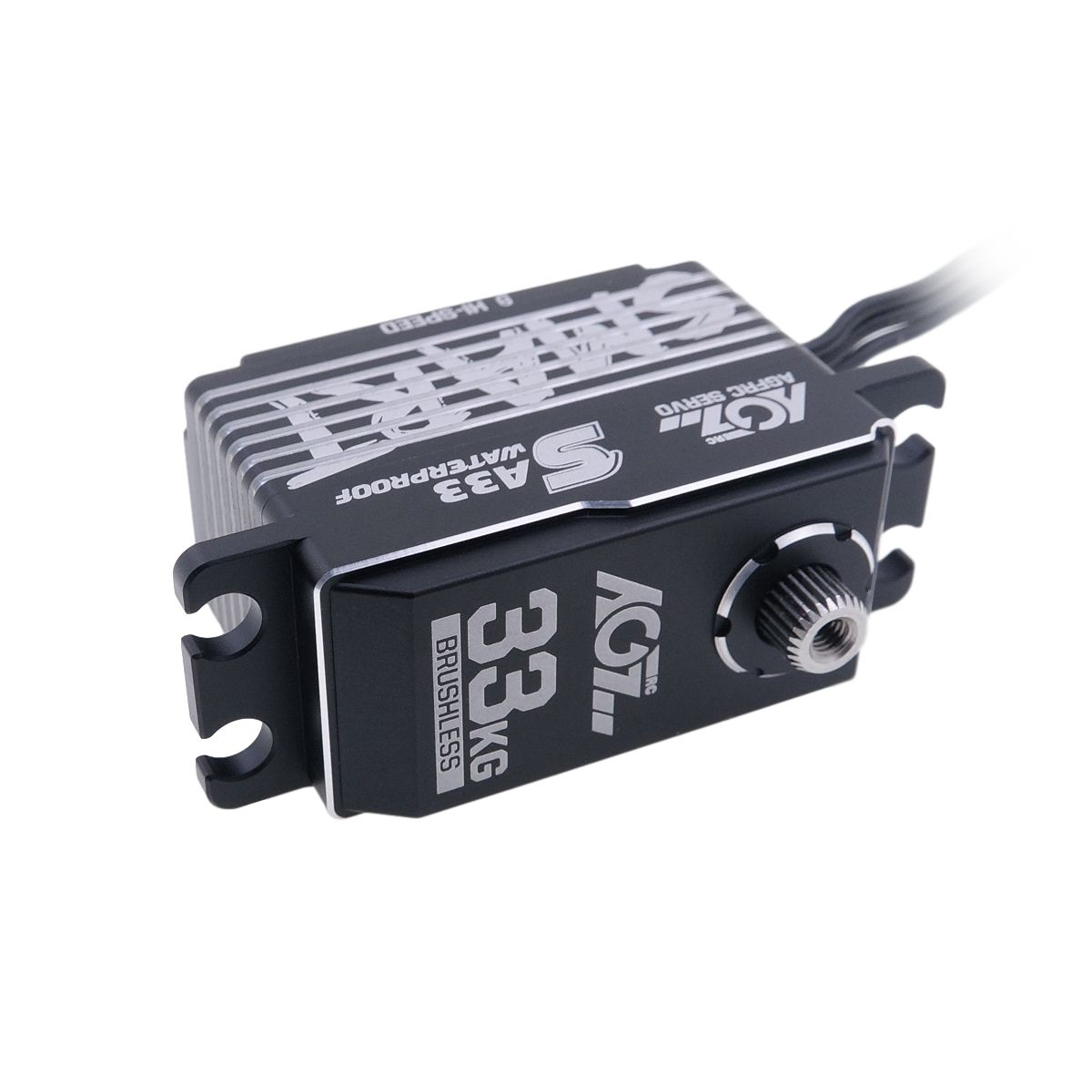 AGF RC SA33 Winch Function Available High Speed Brushless Strong Low Profile Smart Servo for 1/8 Racing Car Boat Aircraft
