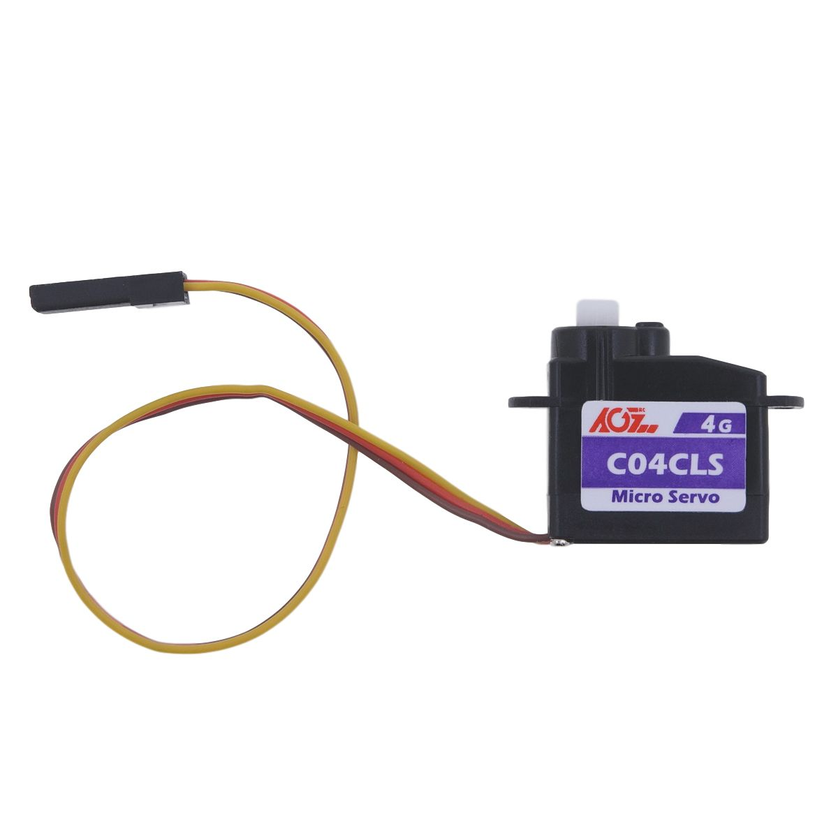 AGFRC C04CLS Super Light 4.3g Fast Response Plastic Micro Servo For 1S Powered Applications