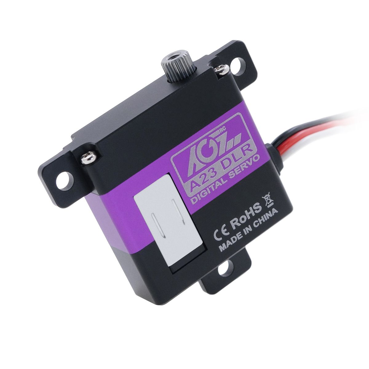 A23DLR Affordable Price 10mm Thickness 4.3KG Torque 23g Brushed Servo Motor For RC Glider Helicopter