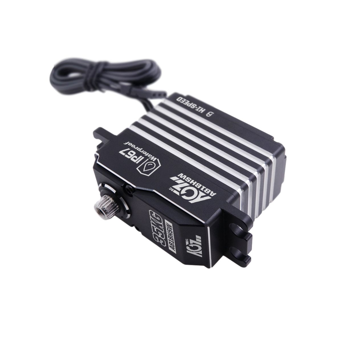 A81BHSW HV 0.075Sec 35KG Fast Cooling Reliable Gears High Premium Fully Waterproof Brushless Digital Standard Servo Motor