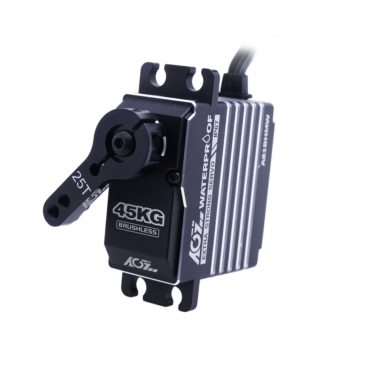 AGFRC A81BHMW HV 0.085S 45KG Super Torque Waterproof Programmable Digital Waterproof Standard Servo