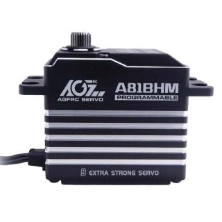 A81BHM Strengthen Steel Gear 45KG 0.085S Durable Brushless Programmable Servo For 1/8 Scale Car