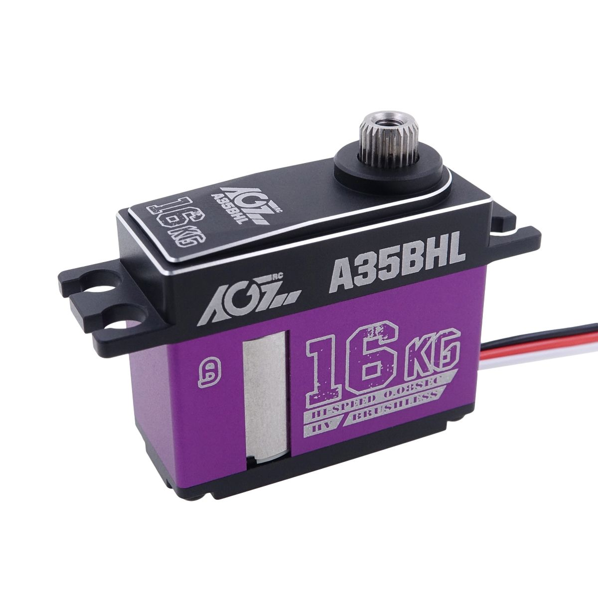 A35BHL Monster Performance 16KG 0.080Sec High Voltage Extra Strong Mid Size Brushless Servo for 3D Helicopter
