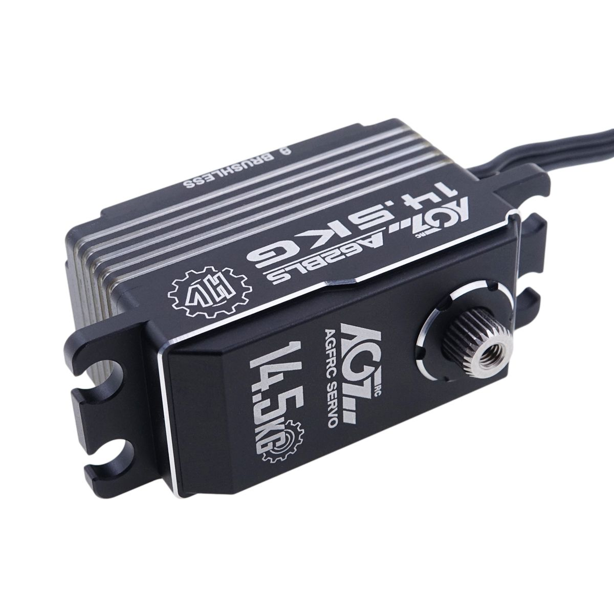 AGFRC A62BLS Aluminum Case HV Metal Gear RC Racing Programmable Brushless Servo