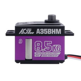 A35BHM High Speed 0.065sec 8.5KG Titanium Gear HV Programmable Brushless Middle Size Servo