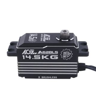 A62BLS Wide Voltage 25T 0.062Sec High Speed 14.5KG Brushless Short Case Servo For RC Drifting Car