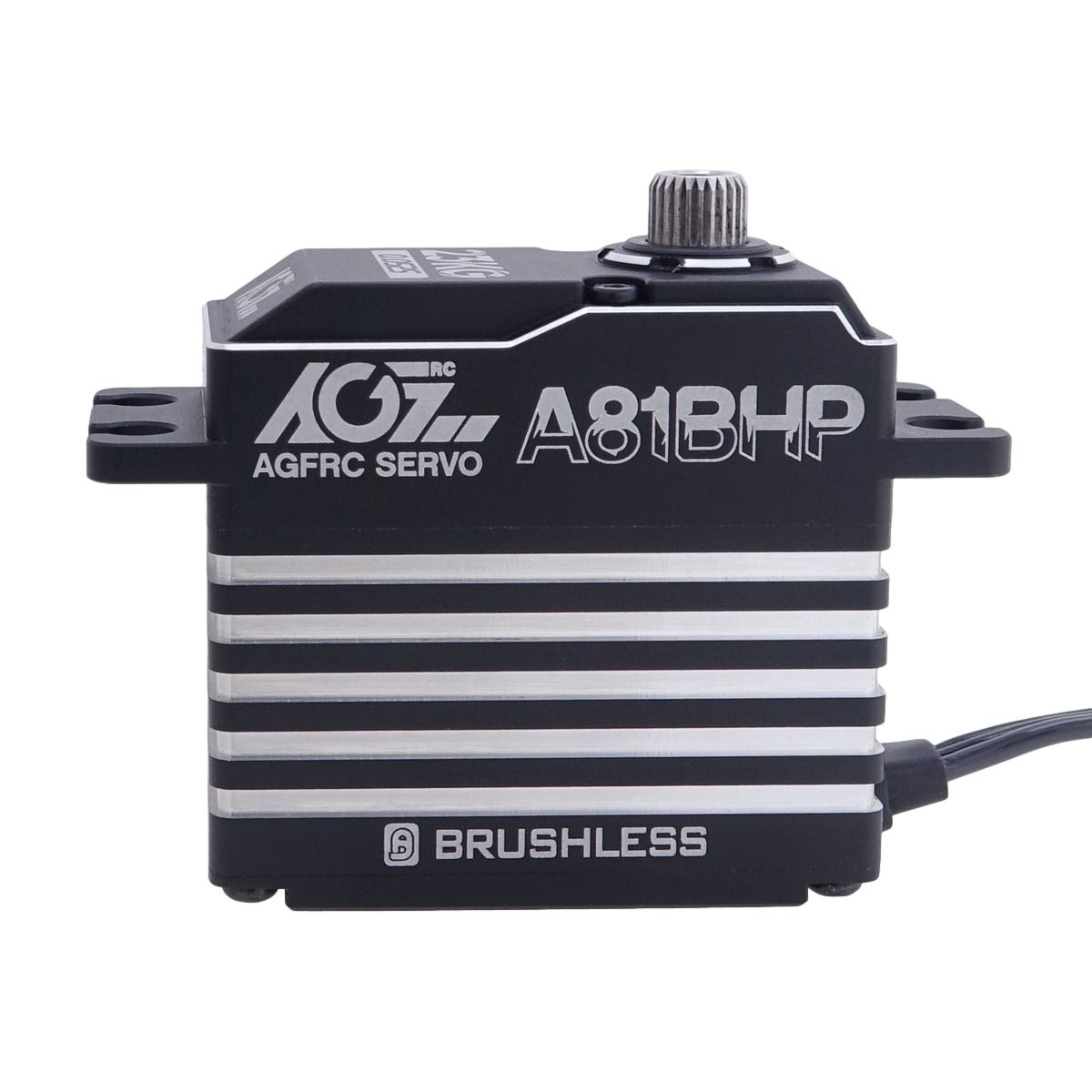 AGFRC A81BHP Hardened Patent Gears 23KG Fast Response Brushless Digital Servo for RC Racing Car Helicopter Aircraft Boat
