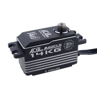 A62CLS 62g Aluminum Heat Sink Case HV 14KG 0.074Sec Coreless Low Profile 1/12 RC Drift Car Servo